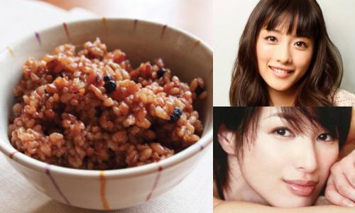 酵素玄米 芸能人