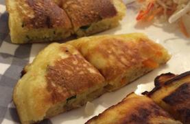 野菜不足 パンケーキ レシピ