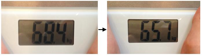 白湯 体重変化