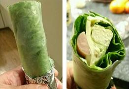 野菜不足 生春巻サラダ