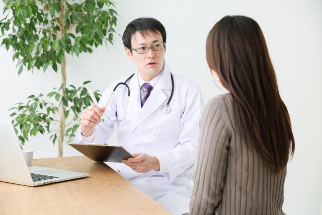 医師のカウンセリング