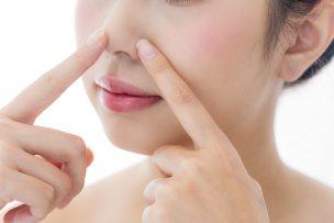 鼻の吹き出物